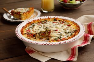 Idahoan Breakfast Quiche with Gluten Free Crust